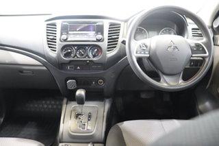 2015 Mitsubishi Triton MQ MY16 GLX Double Cab Silver 5 Speed Sports Automatic Utility