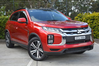 2019 Mitsubishi ASX XD MY20 Exceed 2WD Red 1 Speed Constant Variable Wagon.