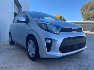 2021 Kia Picanto JA MY21 S Sparkling Silver 4 Speed Automatic Hatchback.