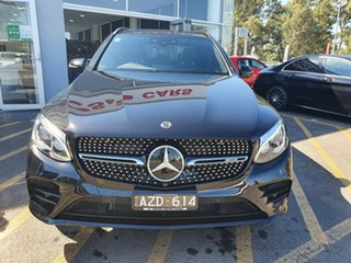 2017 Mercedes-Benz GLC-Class X253 808MY GLC43 AMG 9G-Tronic 4MATIC Black 9 Speed Sports Automatic.