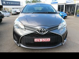 2014 Toyota Yaris NCP130R MY15 Ascent Silver 4 Speed Automatic Hatchback
