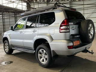 2006 Toyota Landcruiser Prado KZJ120R GXL Silver 5 Speed Manual Wagon