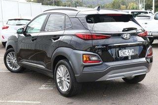 2019 Hyundai Kona OS.2 MY19 Elite 2WD Black 6 Speed Sports Automatic Wagon.