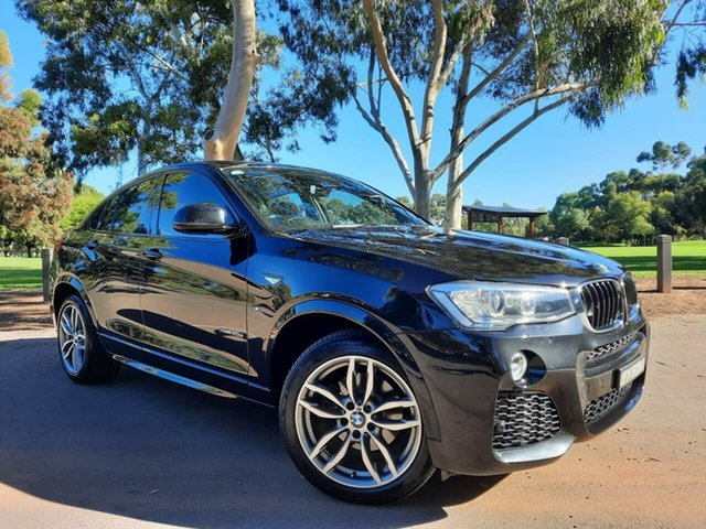 Used BMW X4 F26 xDrive20d Coupe Steptronic Adelaide, 2016 BMW X4 F26 xDrive20d Coupe Steptronic Black 8 Speed Automatic Wagon