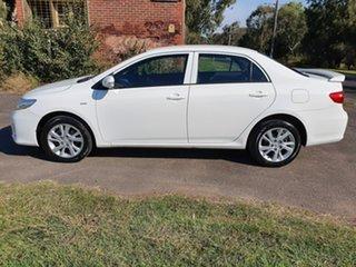 2012 Toyota Corolla ZRE152R Ascent Sport White Automatic Sedan