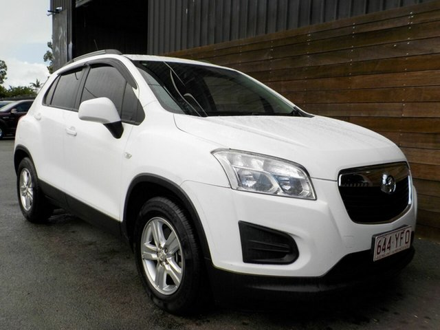 Used Holden Trax TJ MY15 LS Labrador, 2015 Holden Trax TJ MY15 LS White 6 Speed Automatic Wagon