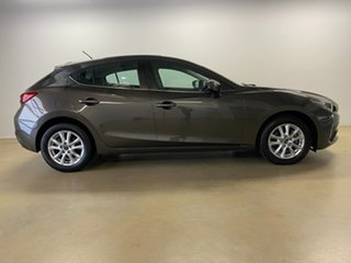 2014 Mazda 3 BM Maxx Grey 6 Speed Automatic Hatchback.