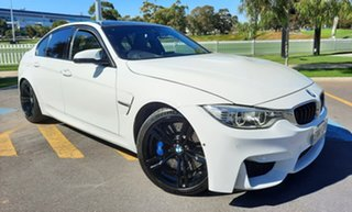2015 BMW M3 F80 M-DCT White 7 Speed Sports Automatic Dual Clutch Sedan.