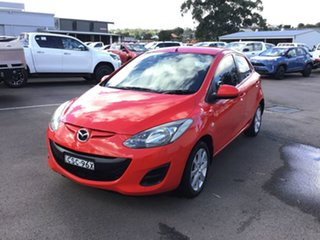 2013 Mazda 2 DE10Y2 MY14 Neo Sport Red 4 Speed Automatic Hatchback.