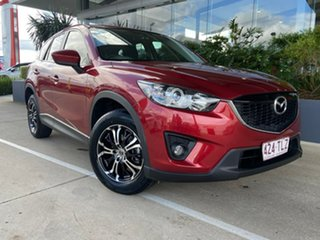 2013 Mazda CX-5 KE1071 MY13 Maxx SKYACTIV-Drive Sport Red 6 Speed Sports Automatic Wagon
