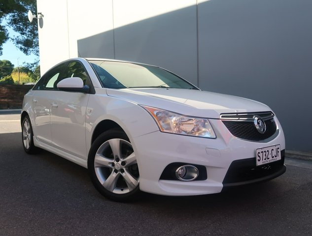 Used Holden Cruze JH Series II MY13 SRi Reynella, 2012 Holden Cruze JH Series II MY13 SRi White 6 Speed Sports Automatic Sedan