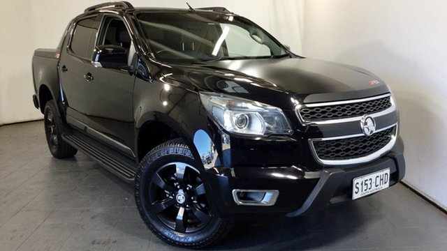Used Holden Colorado RG MY16 Z71 Crew Cab Elizabeth, 2015 Holden Colorado RG MY16 Z71 Crew Cab Black 6 Speed Sports Automatic Utility