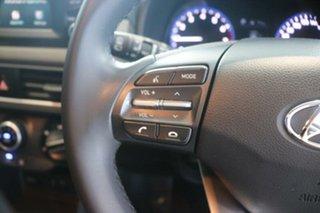 2017 Hyundai Kona OS MY18 Active D-CT AWD Polar White 7 Speed Sports Automatic Dual Clutch Wagon