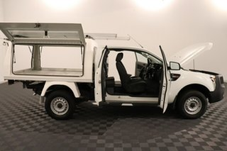 2012 Ford Ranger PX XL Hi-Rider White 6 speed Automatic Cab Chassis