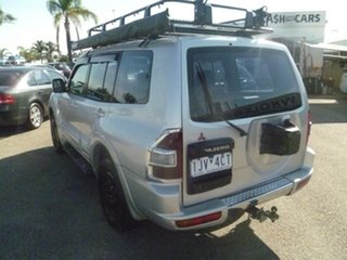 2000 Mitsubishi Pajero NM Exceed Silver 5 Speed Sports Automatic Wagon