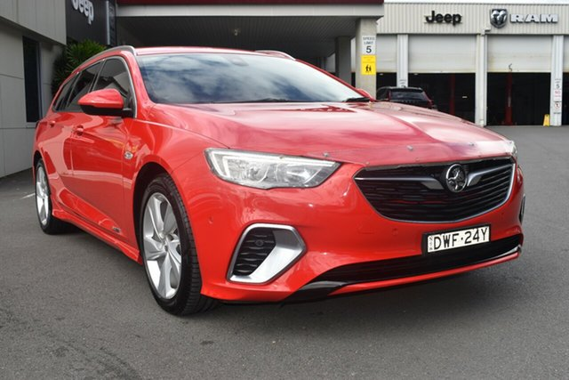 Used Holden Commodore ZB MY18 RS-V Liftback AWD Gosford, 2018 Holden Commodore ZB MY18 RS-V Liftback AWD Red 9 Speed Sports Automatic Liftback