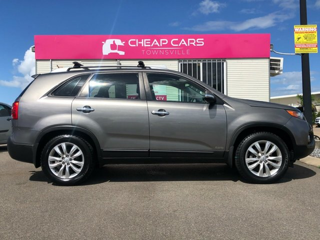 Used Kia Sorento XM MY11 SLi Garbutt, 2011 Kia Sorento XM MY11 SLi Silver 6 Speed Sports Automatic Wagon