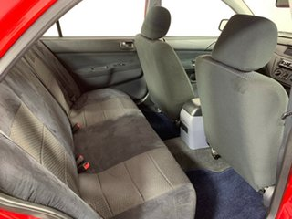 2007 Mitsubishi Lancer CH MY07 ES Red 4 Speed Sports Automatic Sedan