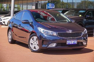2017 Kia Cerato YD MY17 S Blue 6 Speed Sports Automatic Sedan.