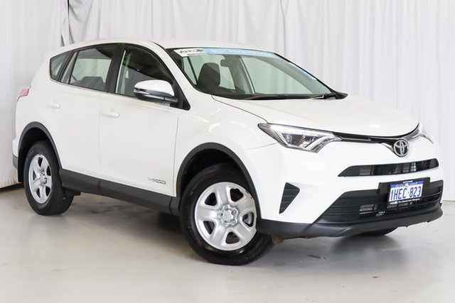 Used Toyota RAV4 ALA49R GX AWD Wangara, 2016 Toyota RAV4 ALA49R GX AWD White 6 Speed Sports Automatic Wagon