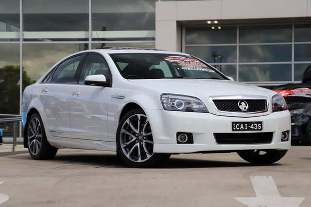Used Holden Caprice WN II MY17 V Liverpool, 2017 Holden Caprice WN II MY17 V Heron White 6 Speed Sports Automatic Sedan