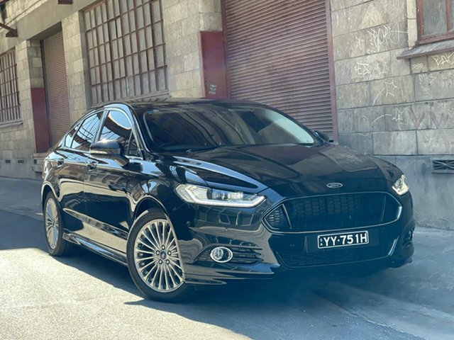 Used Ford Mondeo MD Titanium Cheltenham, 2015 Ford Mondeo MD Titanium Black 6 Speed Sports Automatic Hatchback