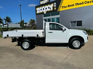 2017 Isuzu D-MAX MY17 SX 4x2 High Ride White/180917 6 Speed Sports Automatic Cab Chassis.