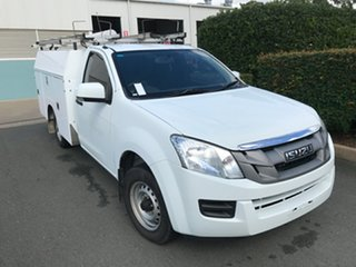 2013 Isuzu D-MAX MY12 SX 4x2 White 5 speed Manual Cab Chassis.
