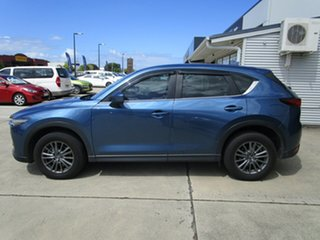 2017 Mazda CX-5 KF4W2A Touring SKYACTIV-Drive i-ACTIV AWD Blue 6 Speed Sports Automatic Wagon