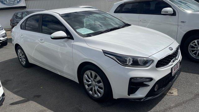 Used Kia Cerato YD MY18 S Moorooka, 2018 Kia Cerato YD MY18 S White 6 Speed Sports Automatic Sedan