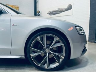 2014 Audi A5 8T MY14 S Tronic Quattro Silver 7 Speed Sports Automatic Dual Clutch Coupe.