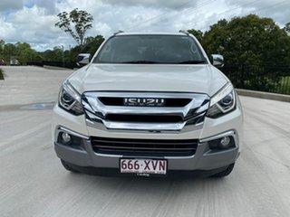2017 Isuzu MU-X MY17 LS-T Rev-Tronic 4x2 White 6 Speed Sports Automatic Wagon