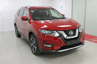 2021 Nissan X-Trail T32 ST-L Ruby Red 7 Speed Constant Variable Wagon.