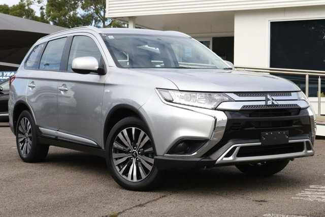 Used Mitsubishi Outlander ZL MY19 ES AWD North Gosford, 2018 Mitsubishi Outlander ZL MY19 ES AWD Silver 6 Speed Constant Variable Wagon