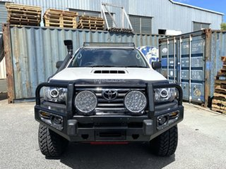 2011 Toyota Hilux KUN26R MY12 SR Double Cab White 5 Speed Manual Cab Chassis