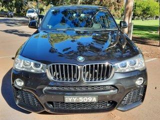 2016 BMW X4 F26 xDrive20d Coupe Steptronic Black 8 Speed Automatic Wagon.