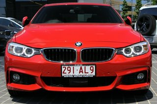 2016 BMW 4 Series F32 430i M Sport Red 8 Speed Sports Automatic Coupe