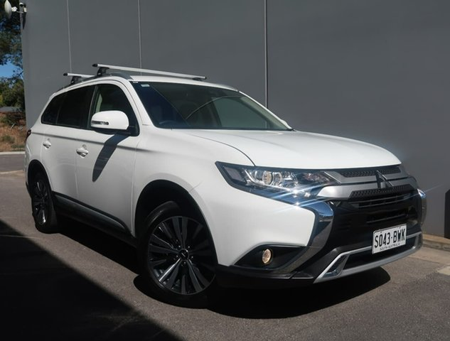 Used Mitsubishi Outlander ZL MY19 LS 2WD Reynella, 2018 Mitsubishi Outlander ZL MY19 LS 2WD White 6 Speed Constant Variable Wagon