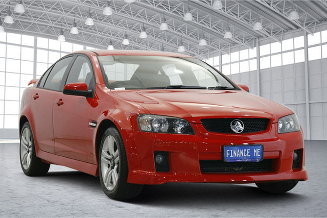 Used Holden Commodore VE SV6 Victoria Park, 2008 Holden Commodore VE SV6 Red 5 Speed Sports Automatic Sedan