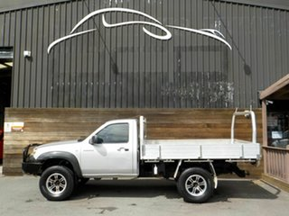 2007 Mazda BT-50 UNY0E3 DX Silver 5 Speed Manual Cab Chassis