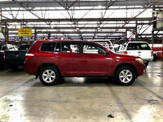 2008 Toyota Kluger GSU40R KX-R 2WD Red 5 Speed Sports Automatic Wagon