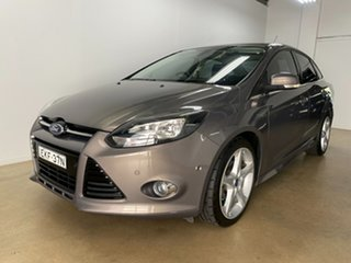 2012 Ford Focus LW Titanium Grey 6 Speed Automatic Sedan