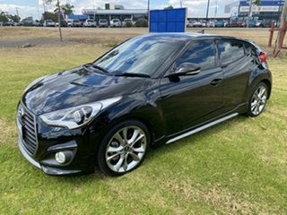 2017 Hyundai Veloster FS5 Series II SR Coupe D-CT Turbo Phantom Black 7 Speed