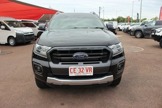 2018 Ford Ranger PX MkIII 2019.00MY Wildtrak Black 10 Speed Sports Automatic Utility.