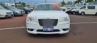 2014 Chrysler 300 LX MY14 C E-Shift Luxury White 8 Speed Sports Automatic Sedan.