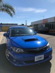 2010 Subaru Impreza MY10 WRX Club Spec 10 Blue 5 Speed Manual Sedan.