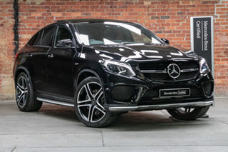 2018 Mercedes-Benz GLE-Class C292 MY808+058 GLE43 AMG Coupe 9G-Tronic 4MATIC Black 9 Speed.