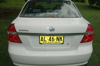 2006 Holden Barina TK White 4 Speed Automatic Sedan.