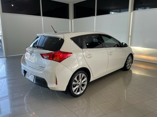 2014 Toyota Corolla ZRE182R Levin S-CVT ZR White 7 Speed Constant Variable Hatchback.