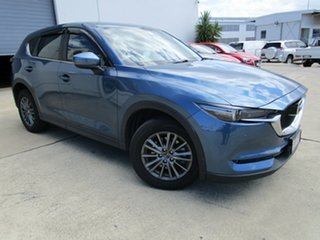 2017 Mazda CX-5 KF4W2A Touring SKYACTIV-Drive i-ACTIV AWD Blue 6 Speed Sports Automatic Wagon.